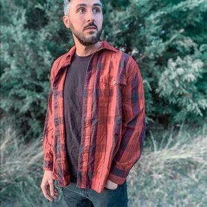 Vintage Red Flannel